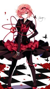 Rating: Safe Score: 34 Tags: dress komeiji_satori pantyhose sheya touhou User: Mr_GT
