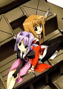 Rating: Safe Score: 5 Tags: hiiragi_akao jinki_extend kousaka_rui tsunashima_shirou User: Radioactive
