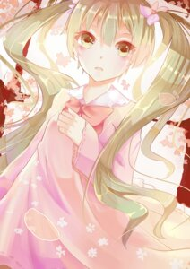 Rating: Safe Score: 45 Tags: dress hatsune_miku mirysa_rh sakura_miku vocaloid User: mattiasc02
