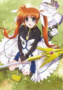 Rating: Safe Score: 11 Tags: mahou_shoujo_lyrical_nanoha mahou_shoujo_lyrical_nanoha_strikers okuda_yasuhiro takamachi_nanoha User: daemonaf2