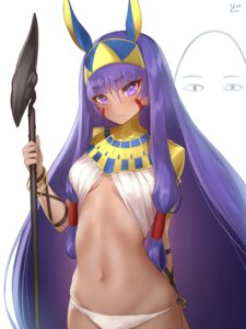 Rating: Questionable Score: 37 Tags: fate/grand_order medjed nitocris_(fate/grand_order) no_bra pantsu weapon yaman User: nphuongsun93