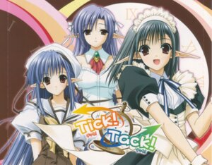 Rating: Safe Score: 8 Tags: ai maid nerine nishimata_aoi sage shuffle suzuhira_hiro tick_tack User: Davison