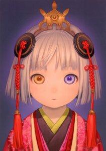 Rating: Safe Score: 29 Tags: heterochromia kimono mikuni range_murata shangri-la User: petopeto