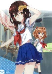 Rating: Safe Score: 39 Tags: high_school_fleet kuroi_mimei kuroki_hiromi seifuku yanagiwara_maron User: Radioactive