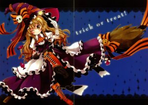 Rating: Safe Score: 23 Tags: fixme gap halloween kirisame_marisa meltdown_comet touhou witch yukiu_con User: midzki