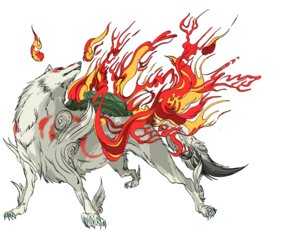 Rating: Safe Score: 8 Tags: amaterasu ookami User: Radioactive