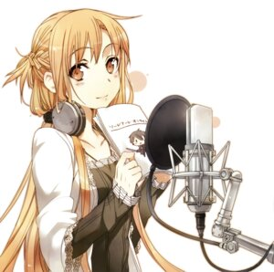Rating: Questionable Score: 80 Tags: abec asuna_(sword_art_online) chibi headphones sword sword_art_online User: AltY