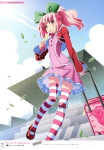 Rating: Safe Score: 20 Tags: anya_alstreim code_geass dress heels thighhighs watanabe_akio User: kiyoe