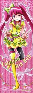 Rating: Safe Score: 7 Tags: aino_megumi happiness_charge_precure! heels pretty_cure satou_masayuki stick_poster thighhighs User: drop