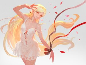 Rating: Safe Score: 39 Tags: cleavage dress kissshot_acerolaorion_heartunderblade kizumonogatari lack no_bra pointy_ears User: Mr_GT