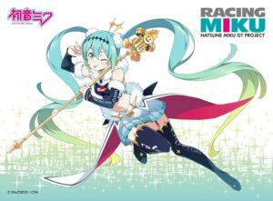 Rating: Safe Score: 24 Tags: hatsune_miku heels kanzaki_hiro racing_miku stockings thighhighs vocaloid weapon User: saemonnokami