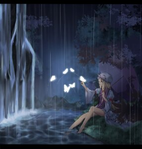 Rating: Safe Score: 29 Tags: touhou umbrella wet yakumo_yukari zemeth User: Mr_GT