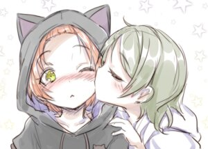 Rating: Safe Score: 26 Tags: hoshizora_rin koizumi_hanayo love_live! sketch tagme User: Radioactive