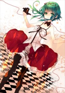 Rating: Safe Score: 37 Tags: gumi megane naoto pantyhose vocaloid User: Romio88