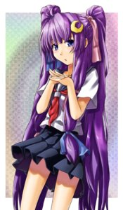 Rating: Safe Score: 13 Tags: alto-00 patchouli_knowledge seifuku touhou User: Mr_GT