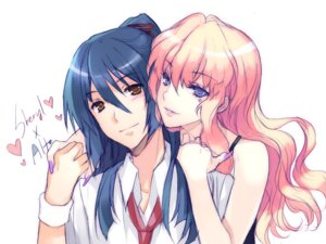 Rating: Safe Score: 14 Tags: cuteg macross macross_frontier saotome_alto sheryl_nome User: Syko83