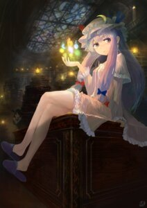 Rating: Safe Score: 31 Tags: dress koakuma patchouli_knowledge touhou you_(shimizu) User: Aneroph