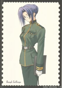 Rating: Safe Score: 6 Tags: cellaria_markelight megane navel soul_link suzuhira_hiro uniform User: Radioactive