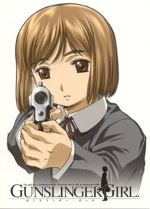Rating: Safe Score: 3 Tags: gun gunslinger_girl henrietta_(gunslinger_girl) User: Radioactive