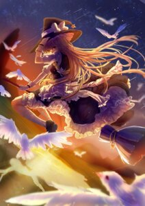 Rating: Safe Score: 22 Tags: kirisame_marisa qin_xin touhou witch User: Mr_GT
