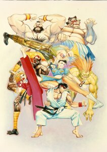 Rating: Safe Score: 3 Tags: blanka capcom chun_li dhalsim dress edmond_honda guile ken_masters pantyhose ryuu street_fighter street_fighter_ii zangief User: Yokaiou