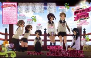 Rating: Questionable Score: 21 Tags: iizuka_haruko megane pantyhose seifuku tamayura_~hitotose~ thighhighs User: drop