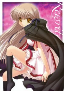 Rating: Safe Score: 5 Tags: crease hinoue_itaru key rewrite seifuku senri_akane User: crim