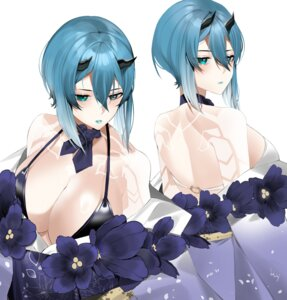 Rating: Safe Score: 19 Tags: bikini_top heterochromia horns japanese_clothes lilycious open_shirt phantasy_star_online_2 swimsuits tattoo User: Mr_GT