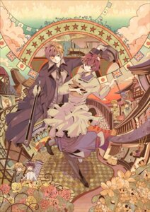 Rating: Safe Score: 8 Tags: hetalia_axis_powers japan japanese_clothes o-naoko united_kingdom User: Radioactive