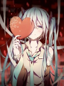 Rating: Safe Score: 76 Tags: hatsune_miku pudding valentine vocaloid User: sylver650