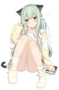 Rating: Safe Score: 70 Tags: amashiro_natsuki animal_ears nekomimi pantsu tail User: Mr_GT
