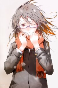 Rating: Safe Score: 33 Tags: fuyuno_haruaki megane User: Radioactive