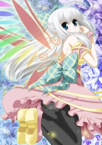 Rating: Safe Score: 30 Tags: ass dress eiyuu pantsu pantyhose pointy_ears wings User: Mr_GT
