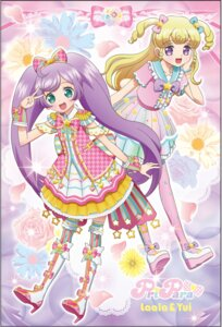 Rating: Safe Score: 11 Tags: dress heels manaka_lala pripara thighhighs yumekawa_yui User: saemonnokami