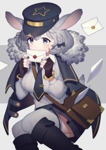 Rating: Safe Score: 19 Tags: animal_ears tagme tail thighhighs uniform yoshihiro12190 User: Dreista