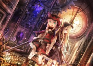 Rating: Safe Score: 20 Tags: animal_ears blood dress gun torn_clothes utatanecocoa weapon User: Nepcoheart