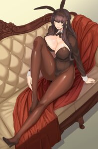 Rating: Questionable Score: 48 Tags: animal_ears bunny_ears bunny_girl cleavage damegane erect_nipples heels pantyhose User: Mr_GT