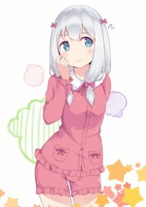 Rating: Safe Score: 33 Tags: bushinofuji eromanga-sensei izumi_sagiri pajama User: Mr_GT