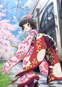 Rating: Safe Score: 26 Tags: ikoku_meiro_no_croisee kimono yune User: ghoulishWitchhx