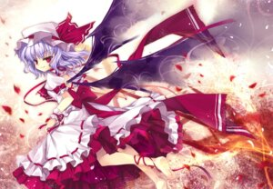 Rating: Safe Score: 16 Tags: capura.l dress remilia_scarlet touhou wings User: yumichi-sama