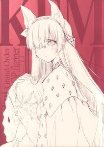 Rating: Questionable Score: 7 Tags: anastasia_nikolaevna_romanova_(fate/grand_order) animal_ears fate/grand_order sketch tagme User: kiyoe