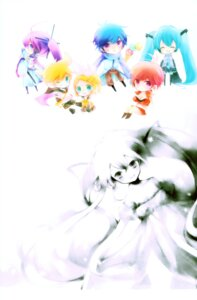 Rating: Safe Score: 8 Tags: hatsune_miku kagamine_len kagamine_rin kaito kamui_gakupo meiko shimeko vocaloid User: Radioactive