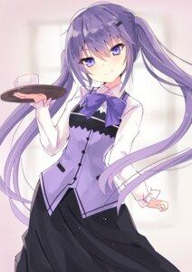 Rating: Safe Score: 11 Tags: gochuumon_wa_usagi_desu_ka? hizaka tedeza_rize waitress User: Munchau