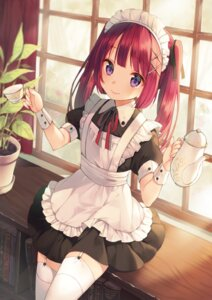 Rating: Safe Score: 94 Tags: maid midorikawa_you moe2015 stockings thighhighs User: 麻里子
