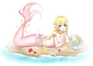 Rating: Questionable Score: 9 Tags: bikini_top kuma_9180 mermaid monster_girl swimsuits tail User: Arsy