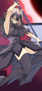 Rating: Safe Score: 15 Tags: 10mo armor fate/grand_order jeanne_d'arc jeanne_d'arc_(alter)_(fate) sword thighhighs torn_clothes User: Werewolverine4