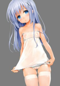 Rating: Explicit Score: 194 Tags: cameltoe dress gochuumon_wa_usagi_desu_ka? ishikei kafuu_chino loli nipples nise_midi_doronokai no_bra pantsu photoshop pussy see_through thighhighs transparent_png User: Nico-NicoO.M.