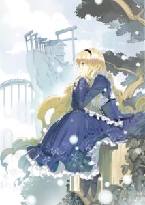 Rating: Safe Score: 39 Tags: alice alice_in_wonderland dress ueda_ryou User: fireattack