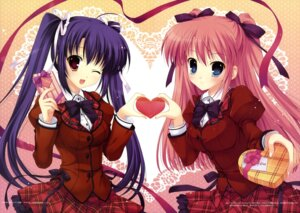 Rating: Safe Score: 51 Tags: mitha seifuku valentine yatano User: SubaruSumeragi