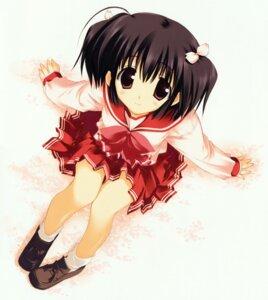 Rating: Safe Score: 26 Tags: mitsumi_misato seifuku to_heart_2 to_heart_(series) yuzuhara_konomi User: Kalafina